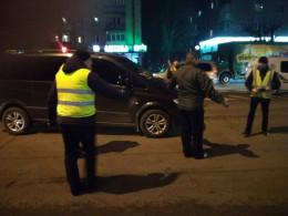 У Чернівцях на проспекті Незалежності поліція відтворювала трагічну ДТП (відео)
