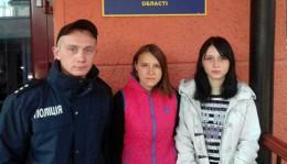У Чернівцях поліцейські розшукали зниклих дівчаток