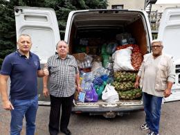 Працівники Чернівецького лісгоспу відправили чергову допомогу на схід України
