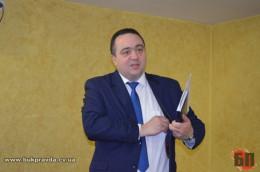Прокурор Буковини Олег Соболь