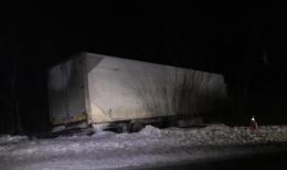На Буковині рятувальники відбуксирували вантажівку