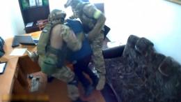 Відео із затримання екс-міліціонера, який пропонував хабар