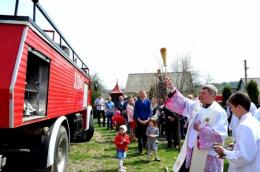 Поляки подарували буковинському селу пожежний автомобіль (фото)