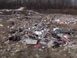 Мешканці Іспасу на Буковині б'ють на сполох через сміттєзвалище