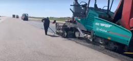 У Чернівцях в аеропорту розпочали ремонт злітно-посадкової смуги (фото)