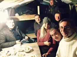 Михайло Саакашвілі скуштував у Києві буковинських вареників