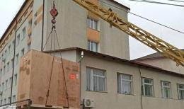 На Буковині в районній лікарні встановлюють сучасний томограф (відео)