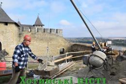 У Хотинській фортеці розпочали реставрацію