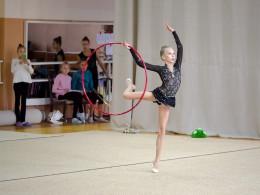 У Чернівцях відбувся чемпіонат області з художньої гімнастики (фото)