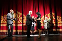 У Чернівцях трьом акторам вручили відзнаки «Заслужений артист України»