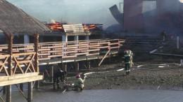 На Буковині вщент згорів ресторан