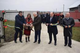 На Буковині відкрили першу чергу водогону в Кельменцях