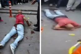 Розлючений батько прямо на вулиці кастрував кривдника доньки