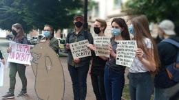 У Чернівцях група студентів вимагає відставки в.о. міністра освіти Шкарлета (фото)