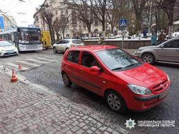 """На Університетській у Чернівцях """"Hyundai"""" збив дитину (фото)"""