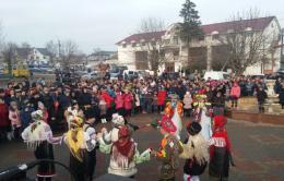 На Буковині відбувся традиціїний фестиваль зимових обрядів і звичаїв