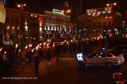 Cмолоскипний марш у Чернівцях