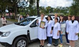 Брусницька амбулаторія отримала новий службовий автомобіль