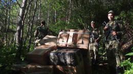 На Буковині біля кордону контрабандисти покинули понад 14 тисяч пачок сигарет та втекли