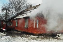 В Чернівецькій області в палаючому будинку через цигарку загинув чоловік