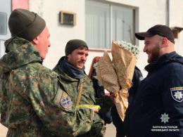 До Чернівців із зони Операції об'єднаних сил повернулися патрульні