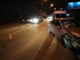 На Руській у Чернівцях зіткнулись три автомобілі