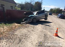 На чужій автівці 38-річний чоловік допустив ДТП і втік з місця події
