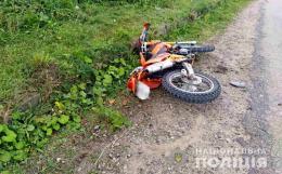 На Буковині «Жигулі» зіткнулись із мотоциклом, водій мототранспорту в лікарні (фото)