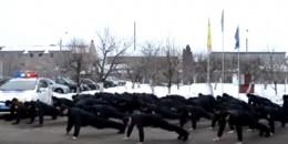 Буковинські поліцейські підтримали флешмоб