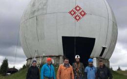 На Буковині розфарбовують другий купол на Памірі (фото)