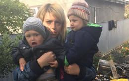 У Чернівцях мама з двома дітками лишилася на вулиці та потребують допомоги (фото)