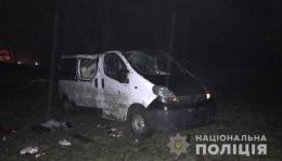 """39-річна жінка, яка на """"Рено"""" з'їхала у кювет, померла на місці ДТП"""