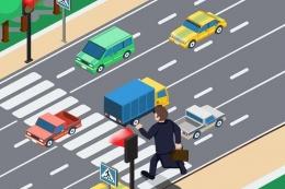 У поліції опублікували відео, як пішоходи у Чернівцях порушують правила