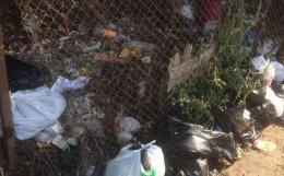 У Чернівцях жителі Руської залишились без контейнера для сміття