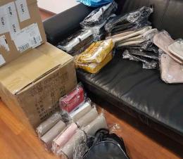 В автобусі «Мілан-Чернівці» виявили контрабанду елітних сумок і взуття