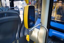 У тролейбусах Чернівців   почали тестувати стаціонарні валідатори