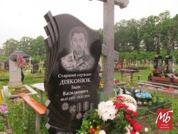 На Буковині невідомі зрізали прапори України на могилах двох загиблих бійців