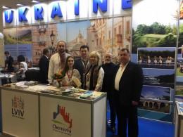 Чернівці представлені на Міжнародній туристичній виставці в Берліні (фото)