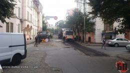 У Чернівцях розпочали ремонт вулиці Ірини Вільде