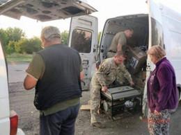 Кіцманські волонтери побували в зоні АТО (фото)