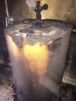На Буковині двоє осіб отримали важкі опіки через вибух твердопаливного котла