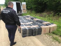 5b2470139a1a68 На Буковині податківці затримали партію контрабандних цигарок на майже два  мільйони гривень