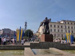 У Чернівцях відзначають День Незалежності України