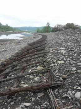 У селі на Буковині відновлюють дамбу на річці Черемош