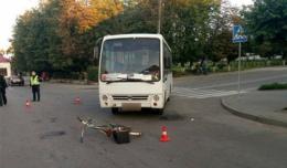 Водій маршрутки, котрий у Чернівцях збив велосипедиста, отримав умовний термін