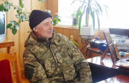 60-річний буковинець пішов добровольцем у зону АТО