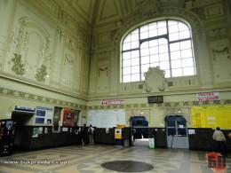 Залізничний вокзал у Чернівцях
