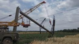 Через негоду на Буковині п'ять сіл третю добу без електрики