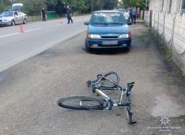 На Буковині ВАЗ збив 77-річного велосипедиста (фото)