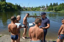 Рятувальники провели рейди водними об'єктами Чернівців (фото)
